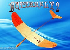 "MODEL AIRPLANE PLANS 20"" HAND LAUNCH GLIDER FULL SIZE PRINTED PLAN"