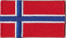 Norway Country Flag Embroidered Patch T4