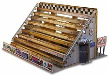 """BK 4802 1:48 Scale """"Bleacher Kit & Hot Dog Stand"""" Photo Real Scale Building Kit"""