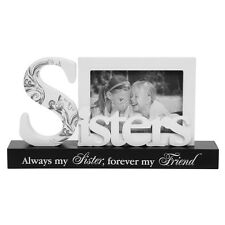 "Sisters Style Word Photo Frame with Verse 5x3"" NEW   22725"