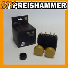Monoblock Quad LNB New Gold Edition