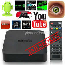 Quad Core Android TV Box WIFI Entièrement Chargé Gratuit Film Sportifs YIFR