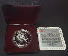 1991 Royal Canadian Mint 'Frontenac' Silver Proof Canada Dollar