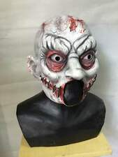 Zombie Clown Halloween Mask Latex Scary Clowns Twisty Horror Fancy Party Masks