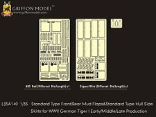 Griffon 1/35 #L35A140 Standard Fenders & Hull Side Skirts for Tiger I