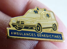 PIN'S VOITURE MERCEDES BENZ BREAK AMBULANCE BENEDICTIMES