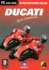 DUCATI WORLD CHAMPIONSHIP - US Seller - Motorbike Motorcycle Racing PC Game NEW!