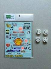 1/24 Honda CIVIC EG6 Idemitsu oil #89 Macau Race '95 Decal & transkit Hasegawa