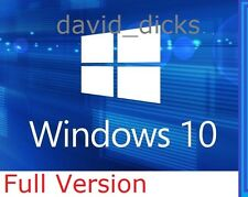 NEW Microsoft Windows 10 Professional 64-bit 32 /PC/Laptop /Genuine Full Pro