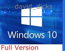 MICROSOFT Windows 10 Professional 64-bit 32/PC/Laptop/Genuine completo Pro