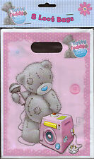 Me to You Tatty Teddy pack of 8 Loot Party Favour Bags brand new & sealed