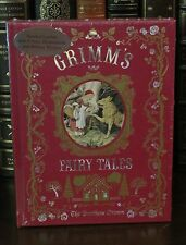 GRIMM'S FAIRY TALES by BROTHERS GRIMM Illustrated, Leatherbound & BRAND NEW!