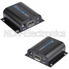 1080P HDMI Network Extender Over Cat5E/6 with IR Ethernet Cable Upto 196ft. 60M