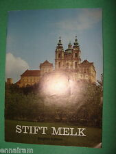 Stift Melk Abbey Germany History / Guidebook pamphlet 1977