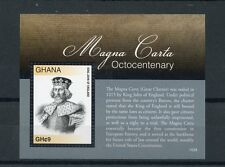 Ghana 2015 MNH Magna Carta Octocentenary 1v S/S King John of England