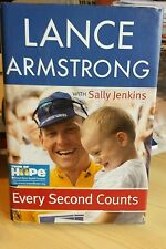 Every Second Counts by Sally Jenkins and Lance Armstrong (2003, Hardcover)