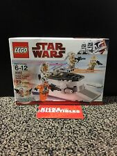 LEGO Star Wars 8083 Rebel Trooper 8084 Snowtrooper Battle Packs NEW Retired