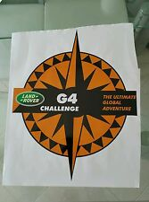 Pegatina Adhesivo Sticker Land Rover 50 CMS Discovery G4 Challenge autocollant