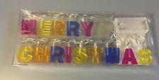 Merry Christmas Lichterkette Weihnachts Deko Frohe Weihnachten Batteriebetrieb