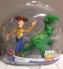 Original Disney Collection Pixar Toy Story Woody and Rex Action Figures