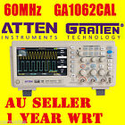 "ATTEN OSCILLOSCOPE Scope GA1062CAL 60MHz 1GS/s 7"" 800X480 LCD Screen Multimeter"