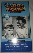 The Little Rascals - Volume 7: Collector's Edition (VHS, 2000)