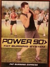 POWER 90 FAT BURNING SYSTEM    DVD  Like New