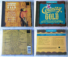 2 x Country CD: 35 Titel - Oak Ridge Boys, Terry Gibbs, John Conlee,... 2 x CD