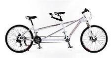Brand New Cyber EURO Tandem bike 24 Gears Shimano DISC brake