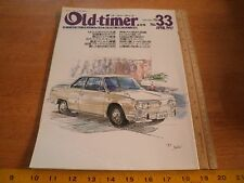 Old-timer 33 Japan car magazine Vintage cars 1990s