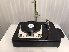 "GARRARD 301 SINGLE TONEARM VERSION 9"" 10"" 12"" Piano Black Plinth Zarge"