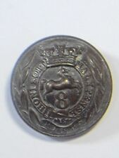 8th (The Kings) Foot original o/r's (1855-71) Large  Button.