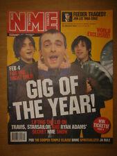 NME 2002 JAN 19 TRAVIS STARSAILOR FEEDER TRAGEDY POD