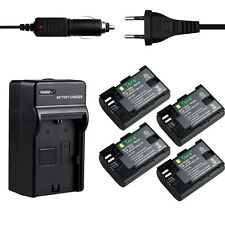 LP-E6 Charger +4X 2650mA Battery for Camera Canon EOS 5D Mark III 5DS 6D 60D 70D