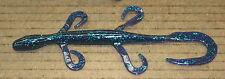 """6"""" Pro Lizard Creature Bait Junebug Plastic 50 pack bulk Bass Worm"""