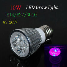 10W E27 LED Grow Light for flowering plant and hydroponics system AC85-265V