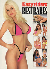 """Easyriders Magazine Supplement """" Best Babes """" 1999 2000 FREE SHIPPING!"""