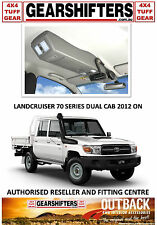 OUTBACK ACCESSORIES ROOF CONSOLES TOYOTA LANDCRUISER 70 SERIES DUAL CAB 2012 ON