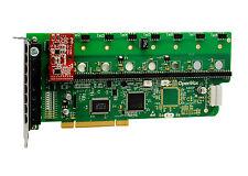 OpenVox A800P01 8 Port Analog PCI Base Card + 0 FXS + 1 FXO, Ethernet (RJ45)