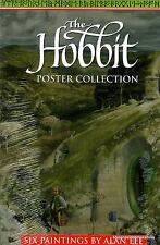 THE HOBBIT POSTER COLLECTION paintings by Alan Lee TOLKIEN'S  LORD OF THE RINGS