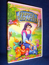 Happily Ever After (DVD, 2004) Mint Disc/Inserts!•No Scratches!•USA•Out-of-Print