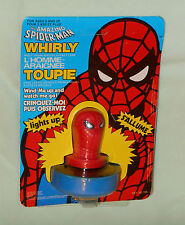 vintage Grand Toys Canadian THE AMAZING SPIDER-MAN WHIRLY MOC
