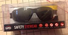 Safety Glasses SAS Safety Corp Safety Eyewear Black Uv Protect Impact Resistant