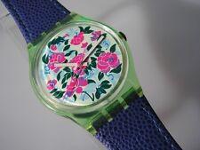 """Swatch GENT """"Mazzolino"""" + nuevo + hermosas flores-swatch"""