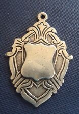 Irish Sterling Silver Celtic Medal or Fob  -  h/m Dublin 1948  -  not engraved