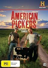 American Pickers : Season 3 (DVD, 2-Disc Set) NEW & SEALED ~Fast Shipping ~Reg.4