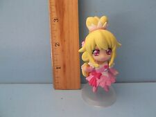 "Bandai Dokidoki! PreCure  Very Cute Cure Heart 2.5""in PVC Figure in Pink Dress"