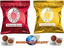 800 Cialde Capsule Caffè Borbone 400 ROSSA + 400 ORO compatibili Lavazza Point