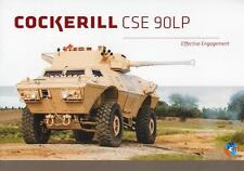 COCKERILL CSE 90LP 2015 TURRETS MILITARY BROCHURE PROSPEKT FOLDER