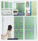 Frosted Static Window Film stained glass paper decorative vinyl privacy 60*90 cm